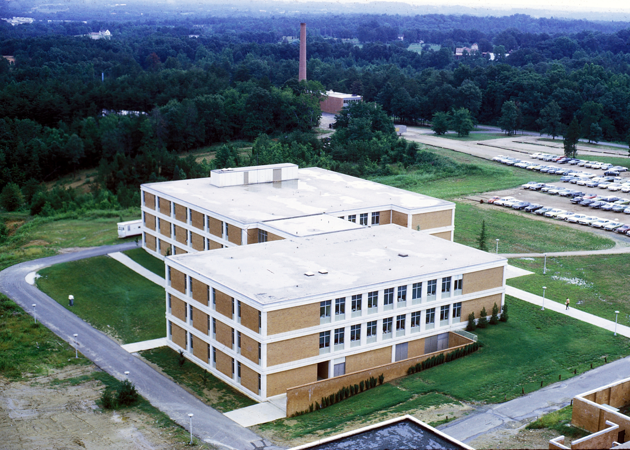 Campus aerials the william states lee college of for Smith house construction